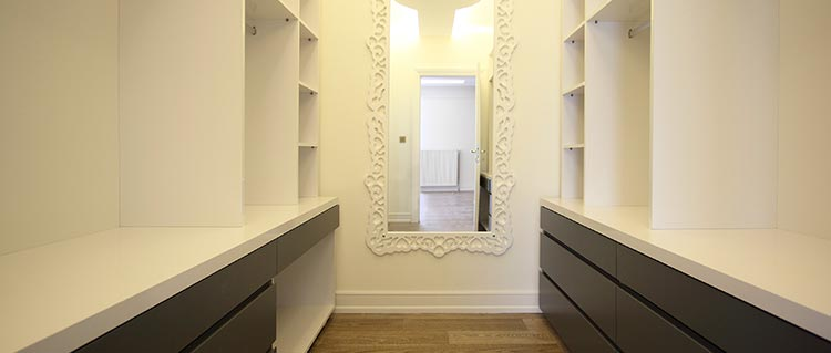 amenagement dressing à Courbevoie